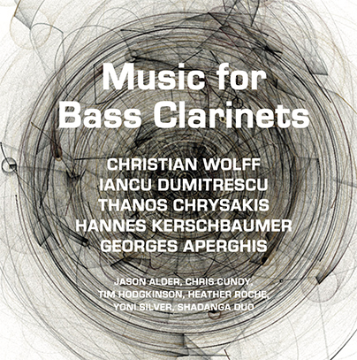 Music for Bass Clarinets cd cover