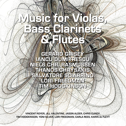 Music for Violas, Bass Clarinets & Flutes cd cover