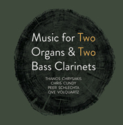Music for Two Organs & Two Bass Clarinets cd cover